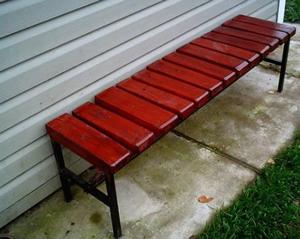 Удобные скамейки своими руками